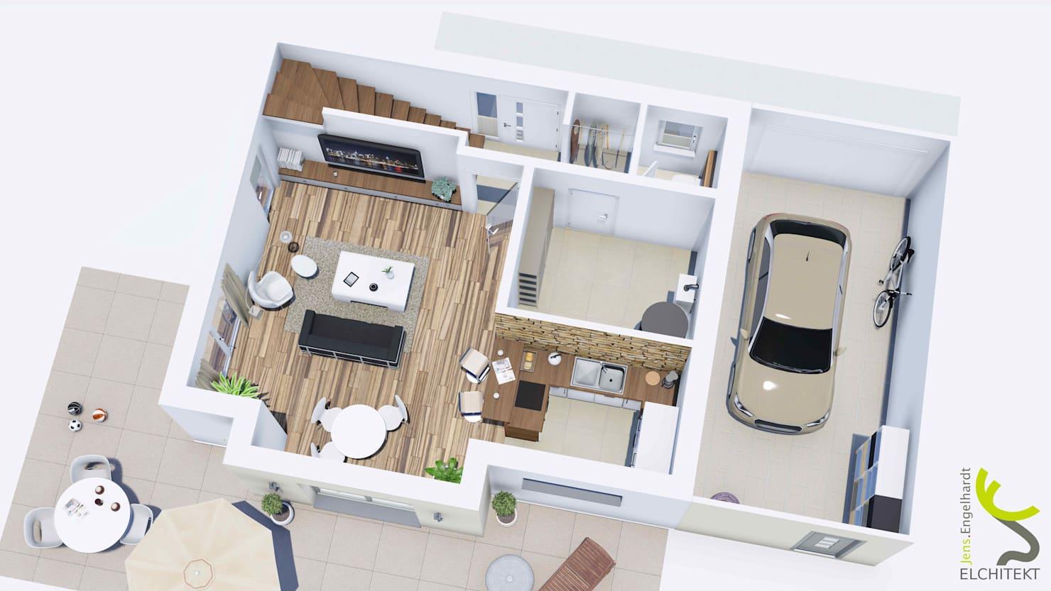 10 نماذج لرسومات معمارية تلهمك لتخطيط منزلك بحرفية